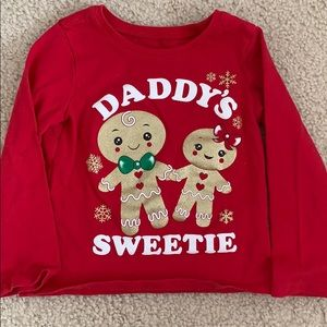 Children's Place Christmas Long Sleeve Tee Shirt